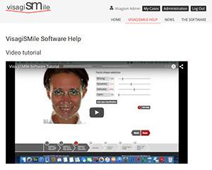 New Help Section in www.visagismile.com