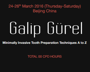 Minimally Invasive Tooth Preparation Techniques A to Z – Upcoming Training