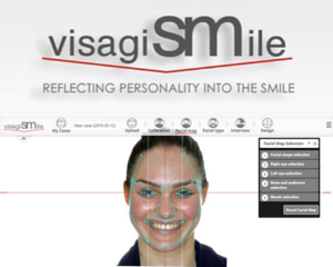 Updated Design and New Help Section of VisagiSMile