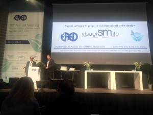 VisagiSMile at the 30th EAED Annual Meeting in Copenhagen